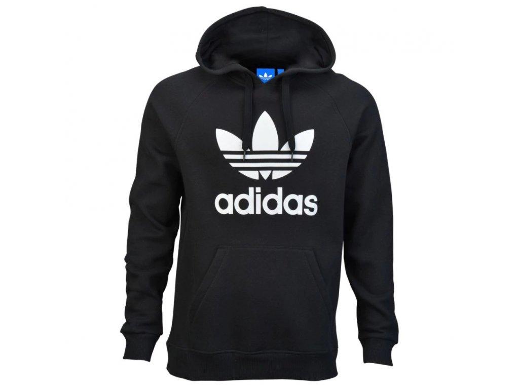 Mikina adidas Originals Trefoil Hoody Unisex Černá