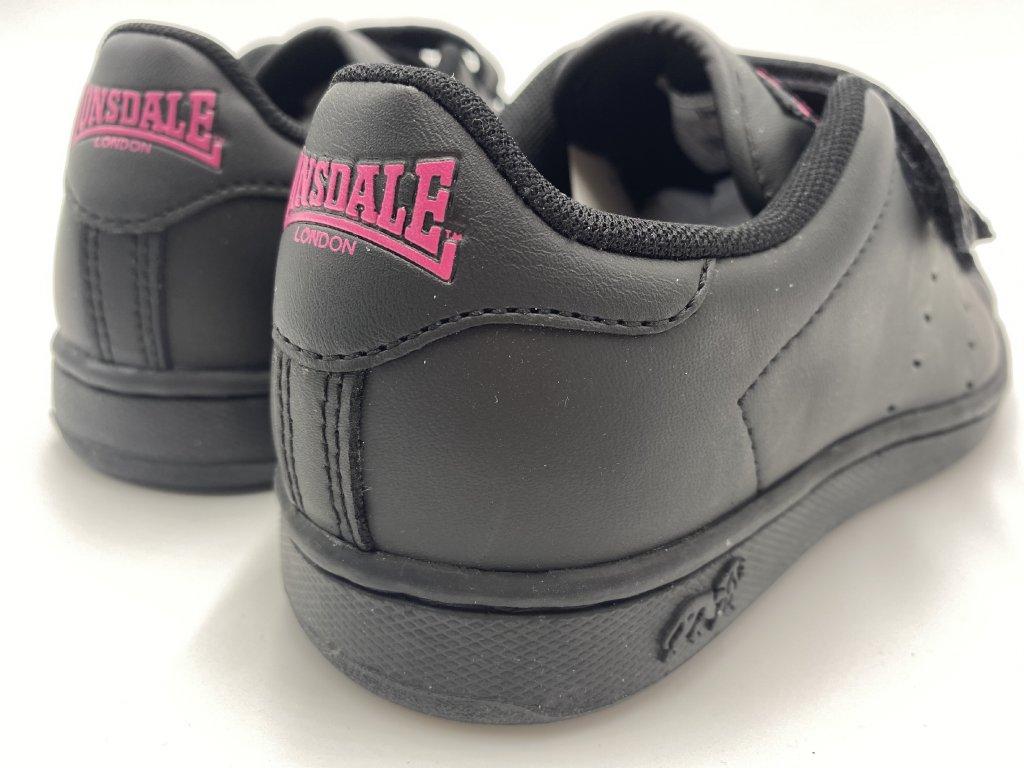 Dámské boty Lonsdale Leyton Černé - Dreamstock. 25988febb4