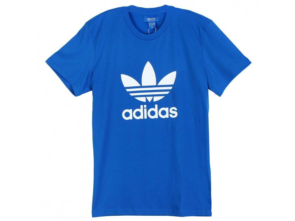 Pánské triko adidas Originals Trefoil Modré