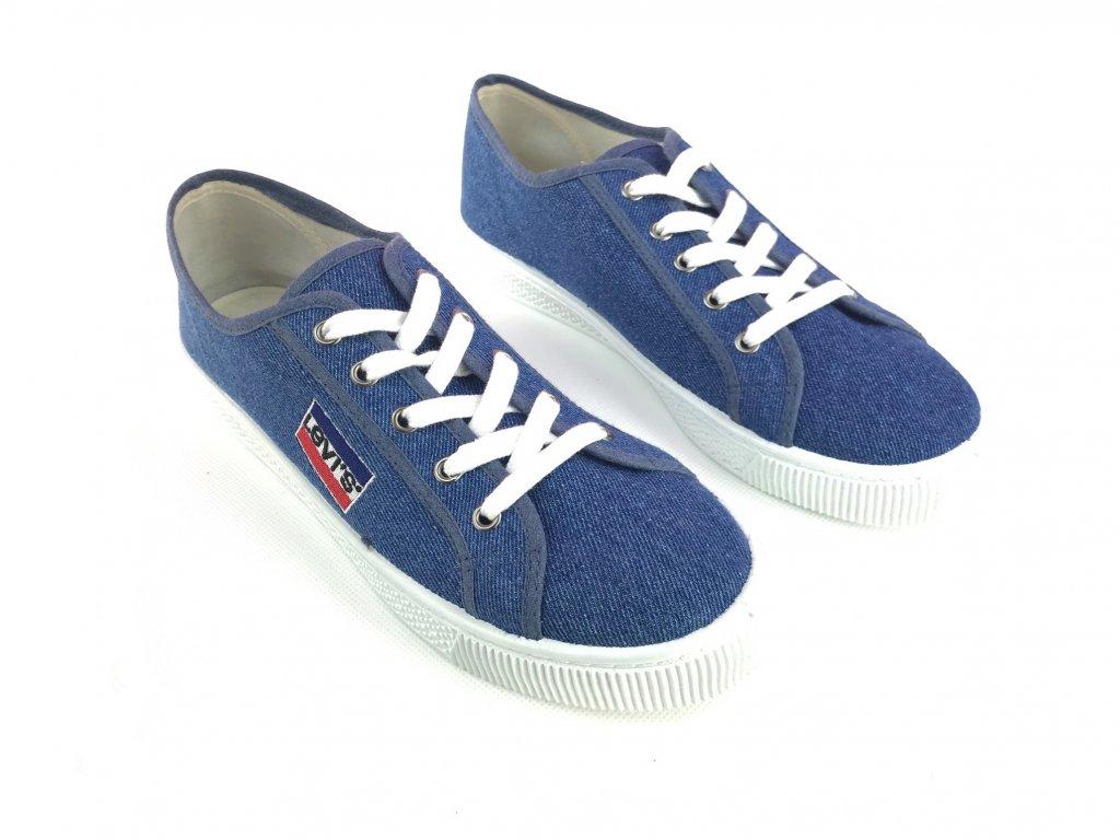 Pánské boty Levi's Malibu Sn18 Modré
