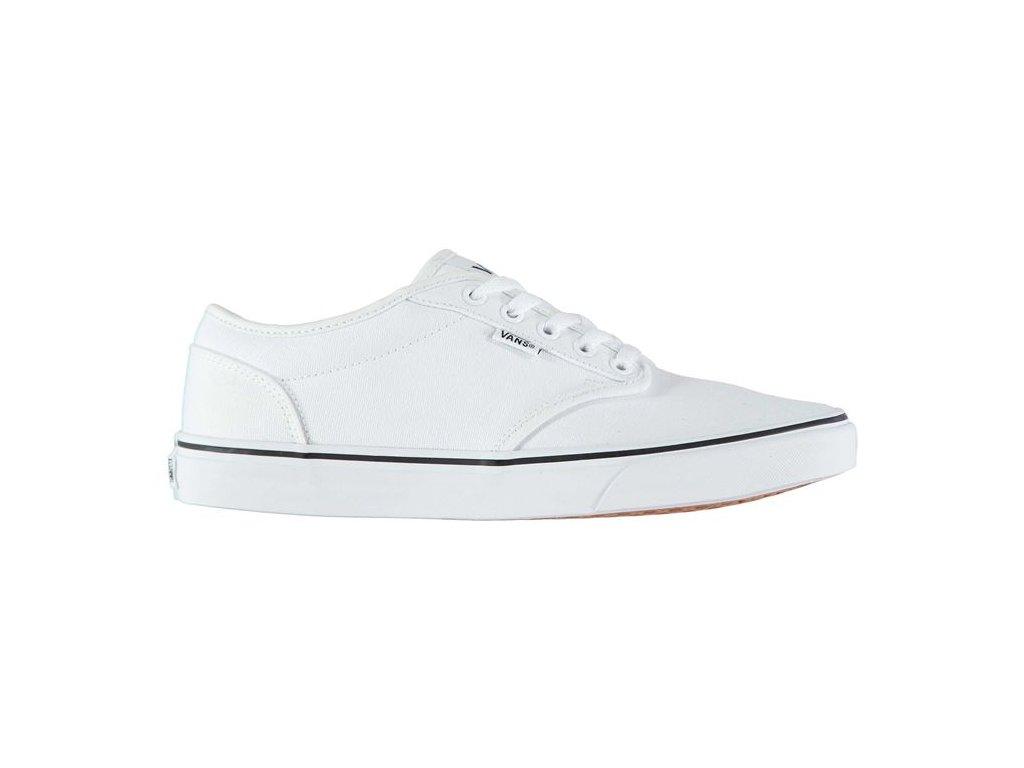 Pánské boty Vans Wood Bílé