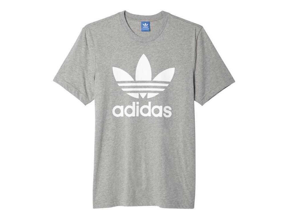 Triko adidas Originals Trefoil Šedé Classic