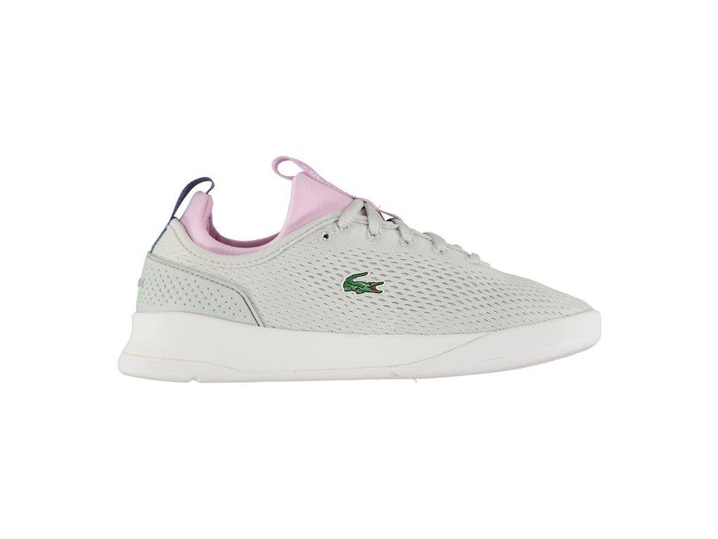 Dámské boty Lacoste LT Spirit Šedofialové