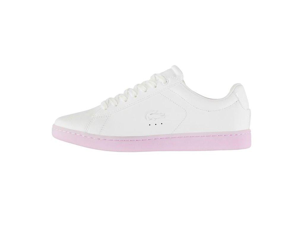 Dámské boty Lacoste Carnaby Růžové
