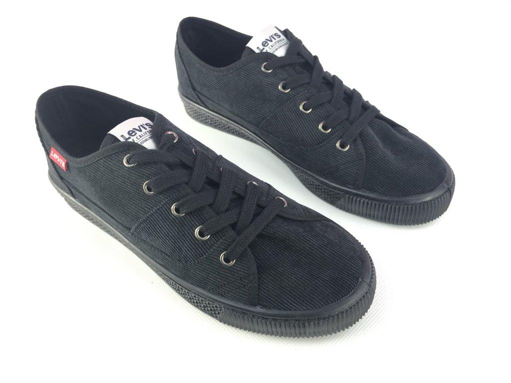 Pánské boty Levis Malibu Sn84 Černé