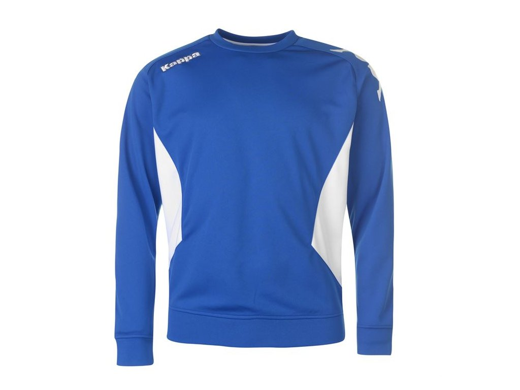 Pánská mikina Kappa Crew Sweater Modrá
