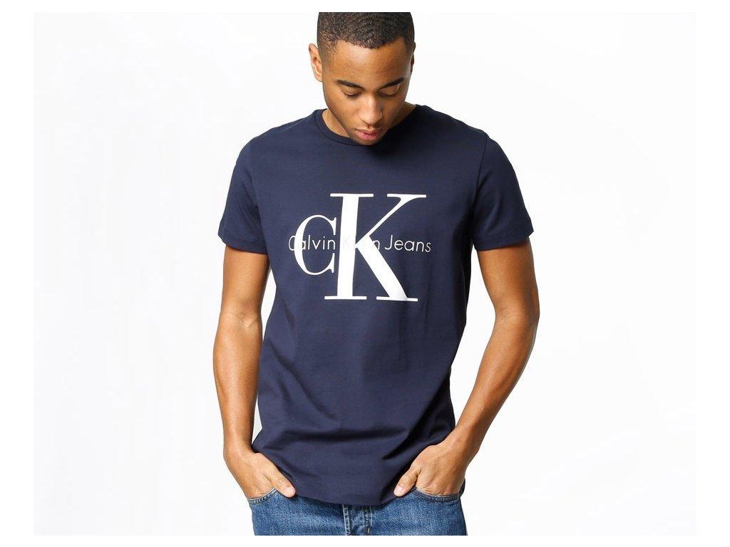 Pánské triko Calvin Klein Short Navy