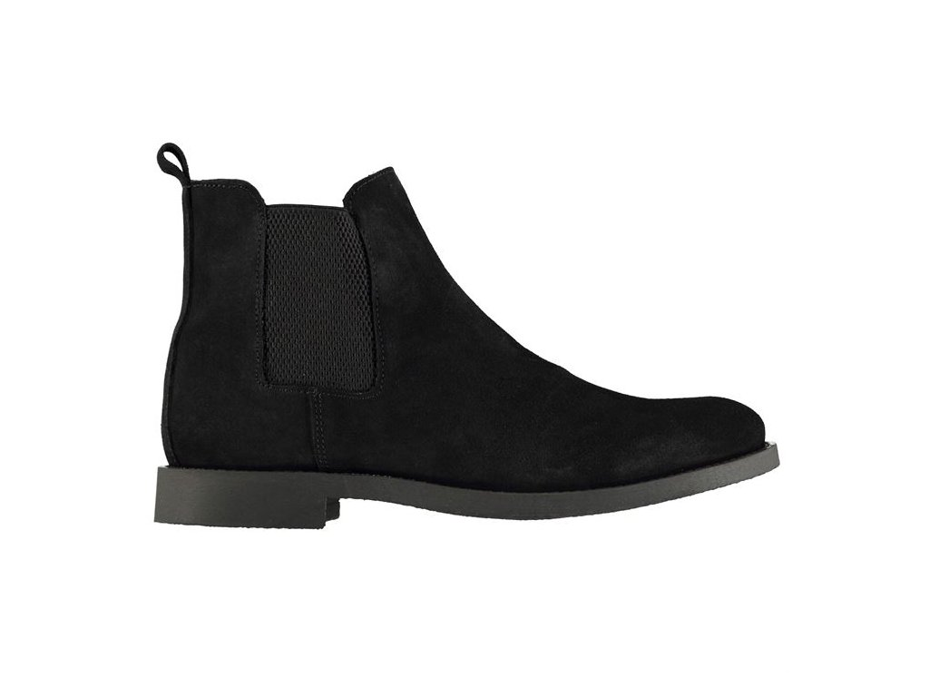 Pánské boty Firetrap Francis Chelsea Černé