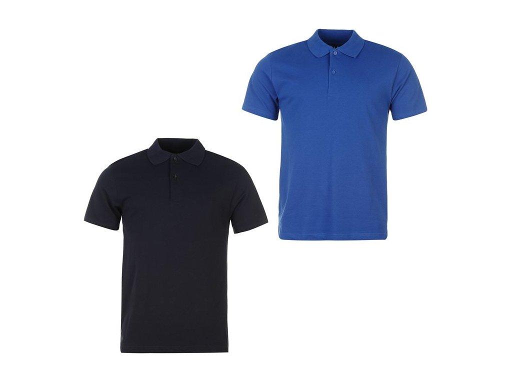 Pánská trika Donnay Polo 2 v balení Navy/Modré