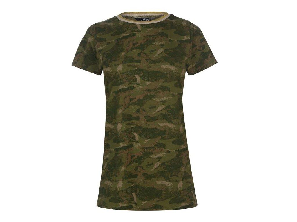 Dámské triko Golddigga Tass Camo