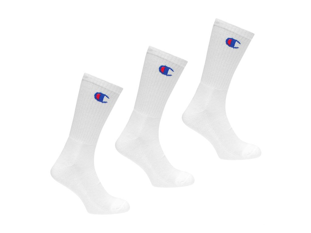 Ponožky Champion 3 ks Bílé