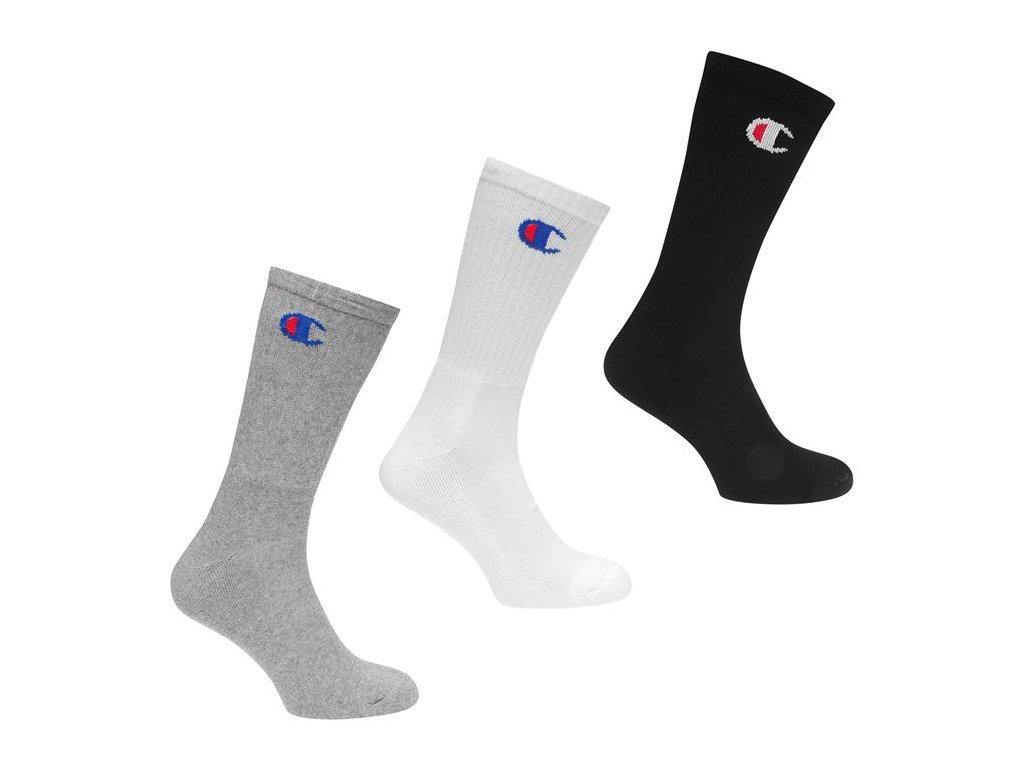 Ponožky Champion 3 ks Multi