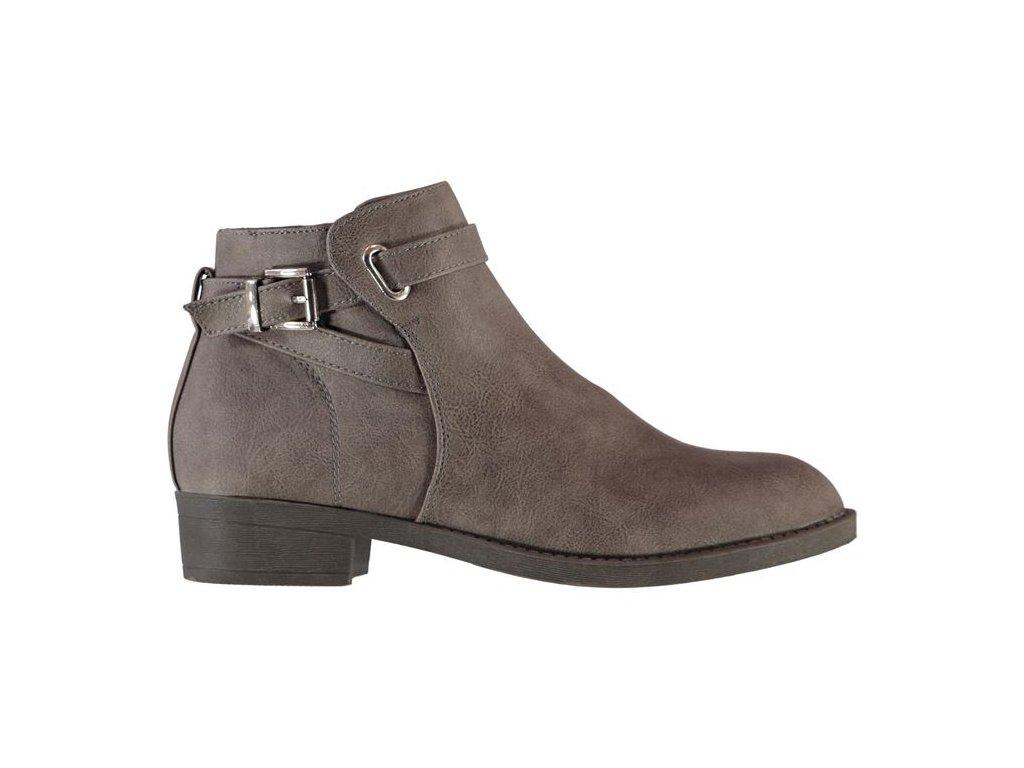 Dámské boty Miso Buck Šedé