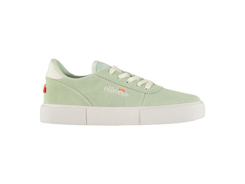 Dámské boty Ellesse Alto Suede Zelené