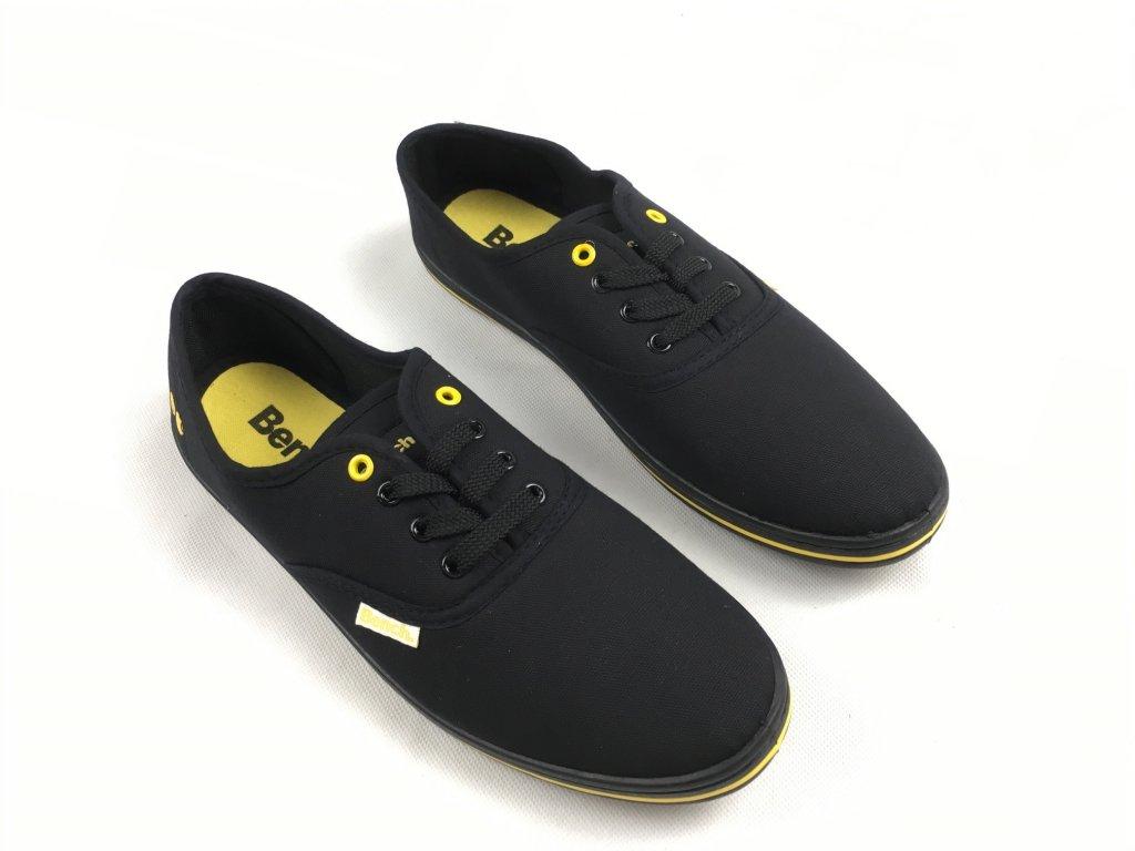 Dámské boty Bench Pump Černo žluté