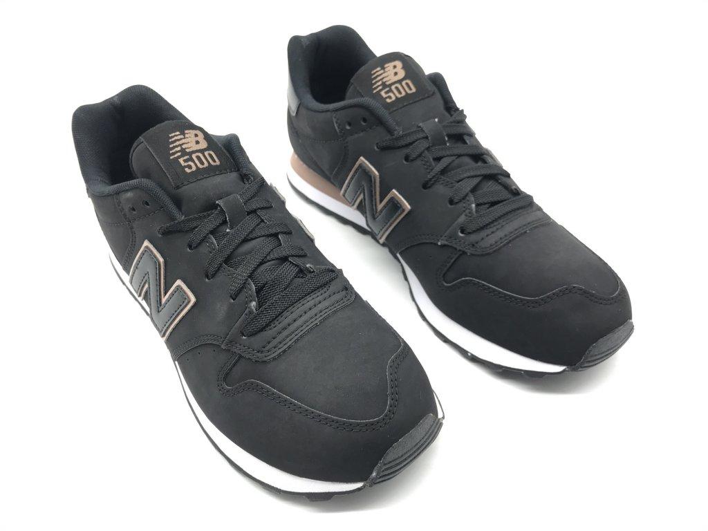 Dámské boty New Balance 500 Černé - Dreamstock. a4d3517cc5b