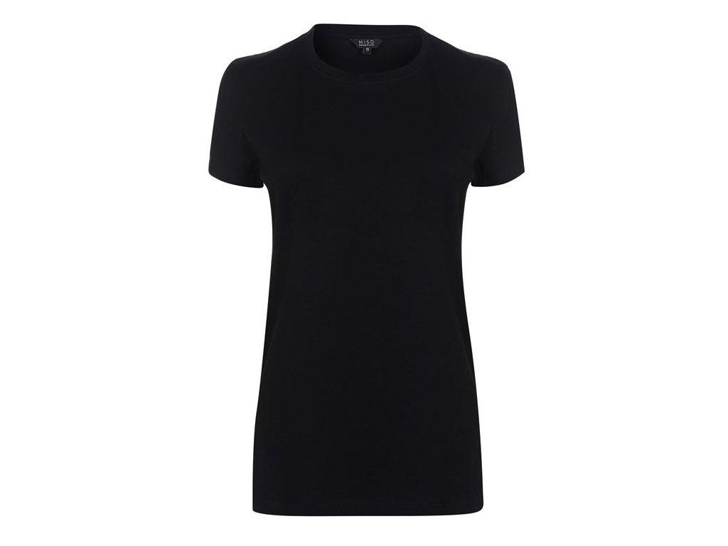 Dámské triko Miso Yarn Černé