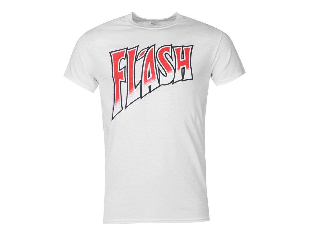 Pánské triko Dreamstock Original Official Flash Bílé