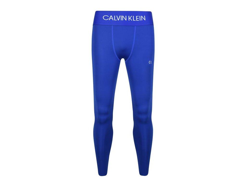 Pánské legíny Calvin Klein Modré