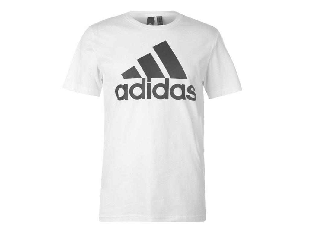 Pánské triko adidas Linear Logo Bílé
