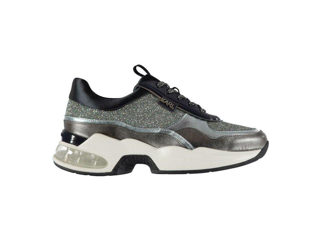 Dámské boty Karl Lagerfeld Ventura Navy Mix