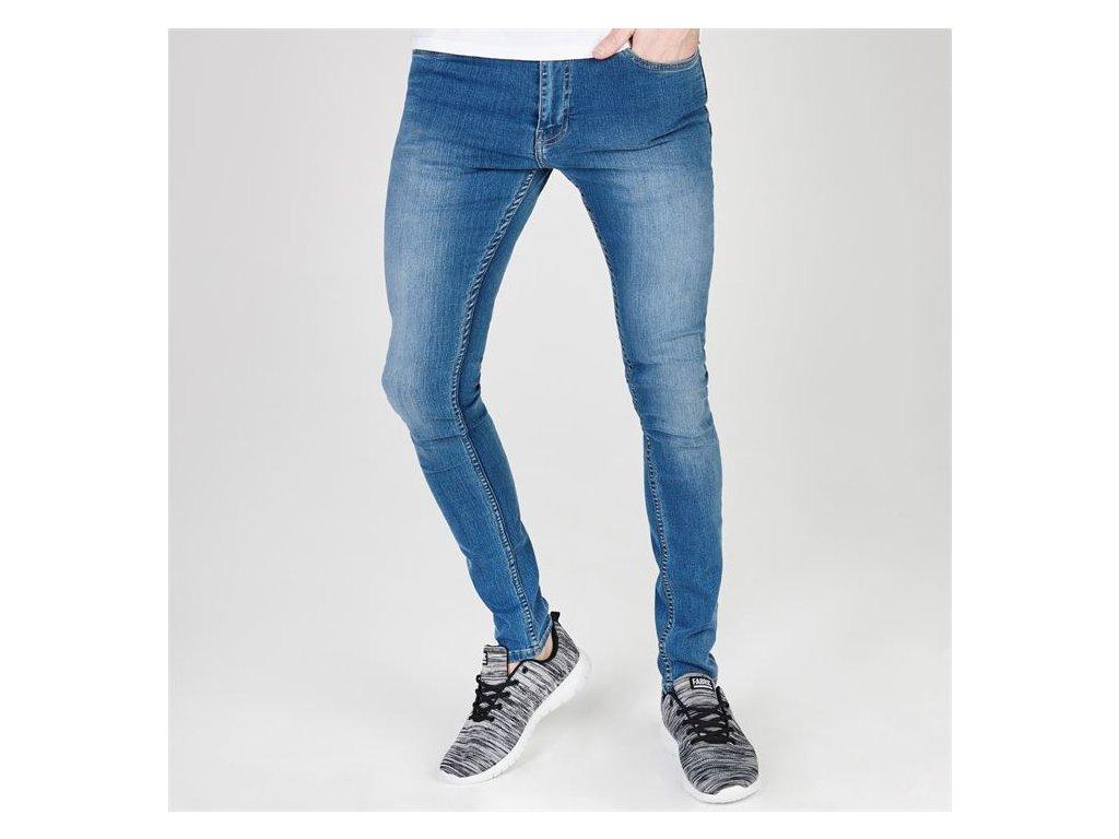 Pánské džíny Firetrap Skinny fit Modré
