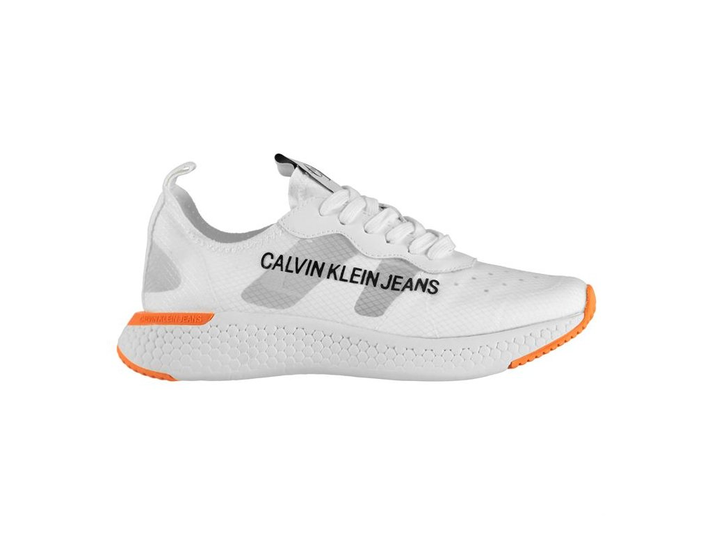 Dámské boty Calvin Klein Alexia Nylon Bílé