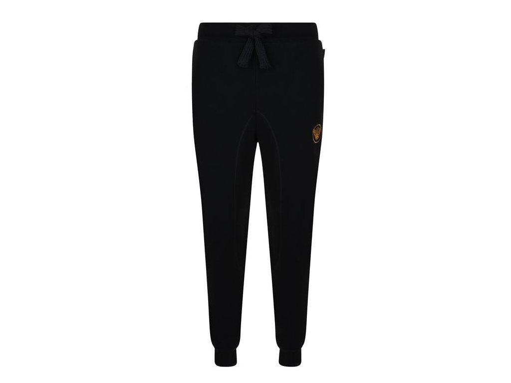Pánské kalhoty Emporio Armani Lounge Černé