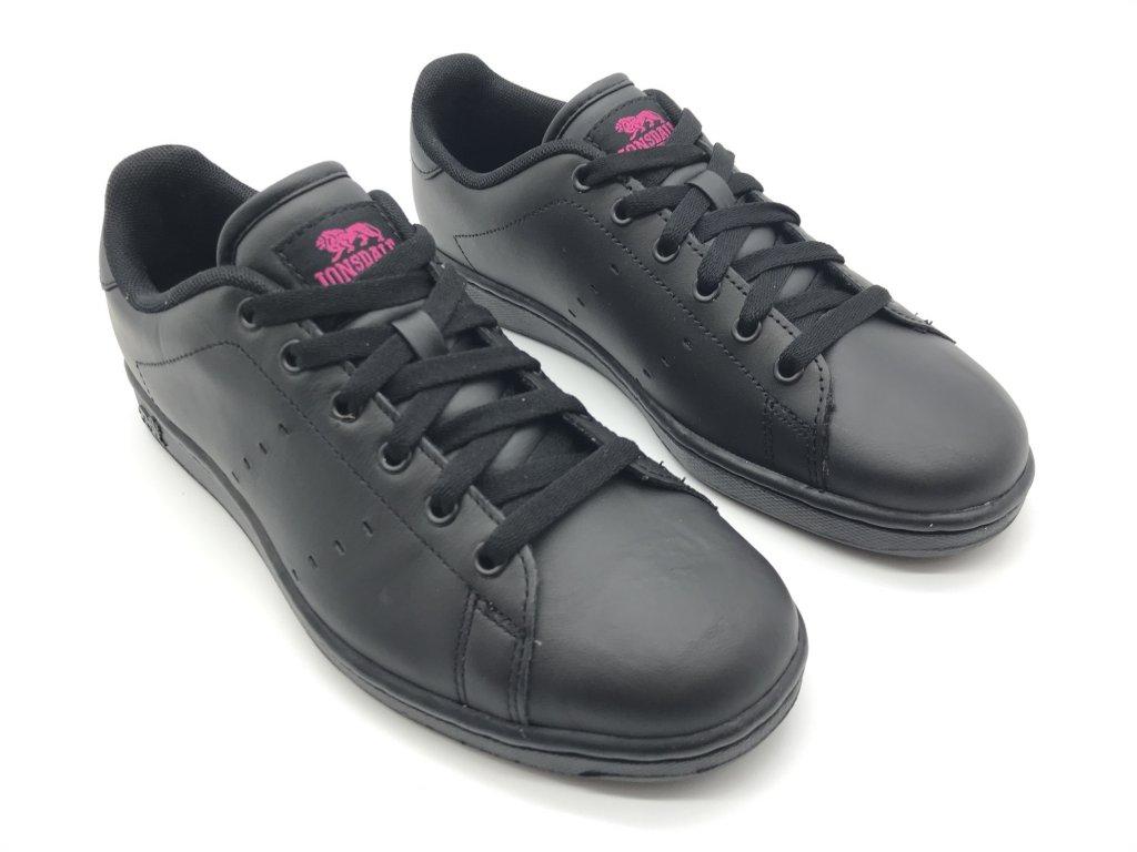 Dámské boty Lonsdale Leyton Leather Černé