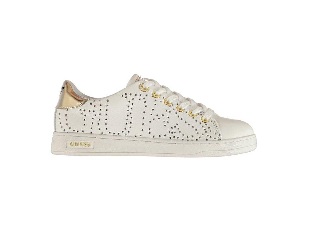Dámské boty Guess Carter Leather Gold