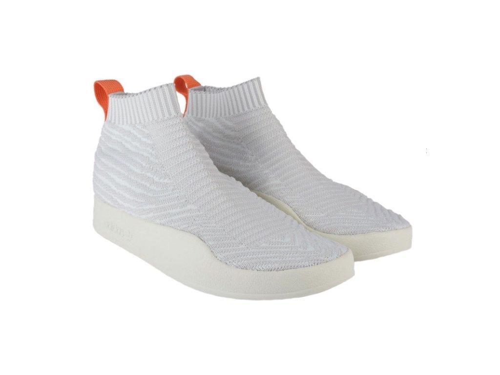 Pánské boty adidas Originals Adilette Crazy Sock Bílé