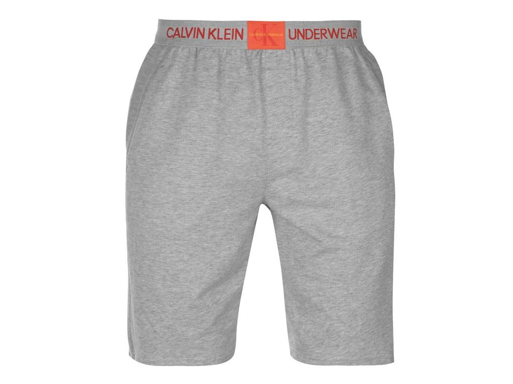 Pánské šortky Calvin Klein Underwear Monogram Šedé