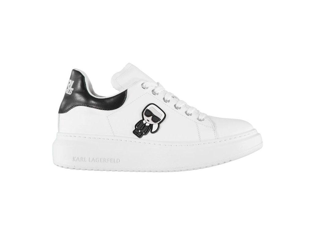 Dámské boty Karl Lagerfeld Chunk Bílé