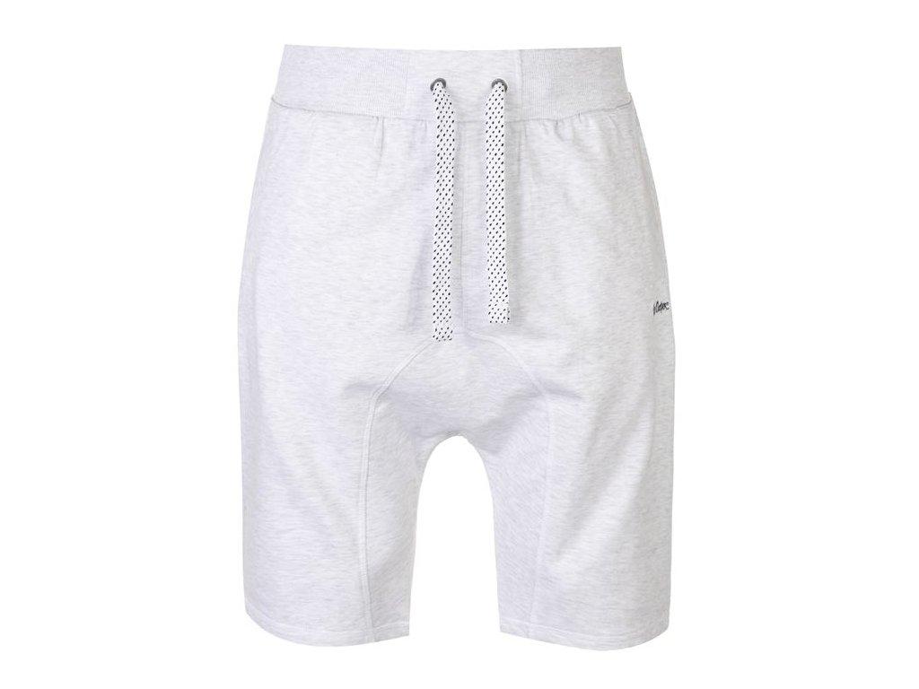 Pánské šortky Lee Cooper Dropped Crotch Bílé