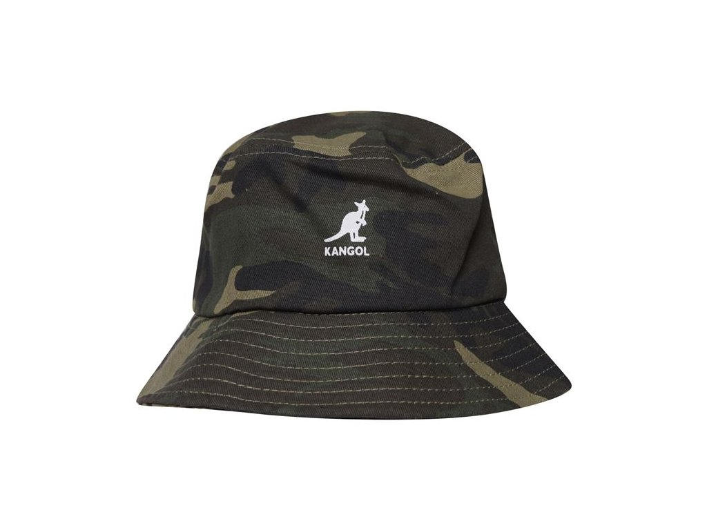Klobouk Kangol Stripe Buck Camo