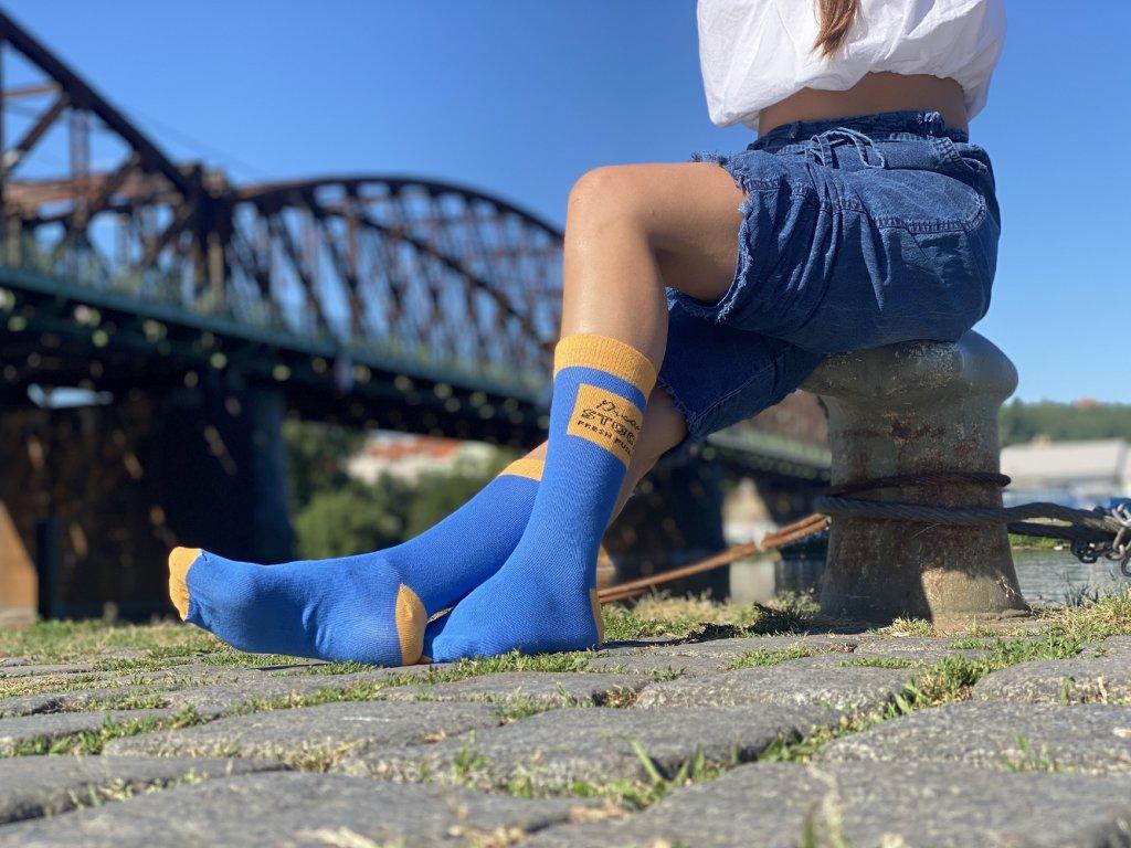 Dámské ponožky Dreamstock Fresh Fusekle