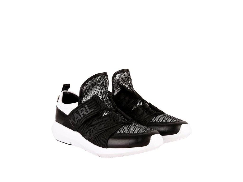 Dámské boty Karl Lagerfeld Runner Černé