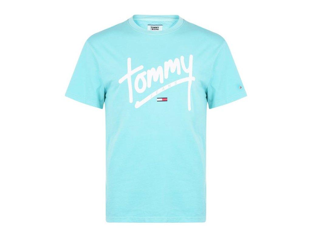 Pánské triko Tommy Hilfiger Written Ceramic