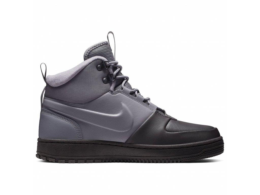 Pánské boty Nike Path Winter Mid Šedé