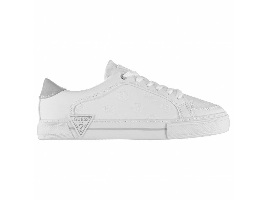 Dámské boty Guess Gransin Bílé