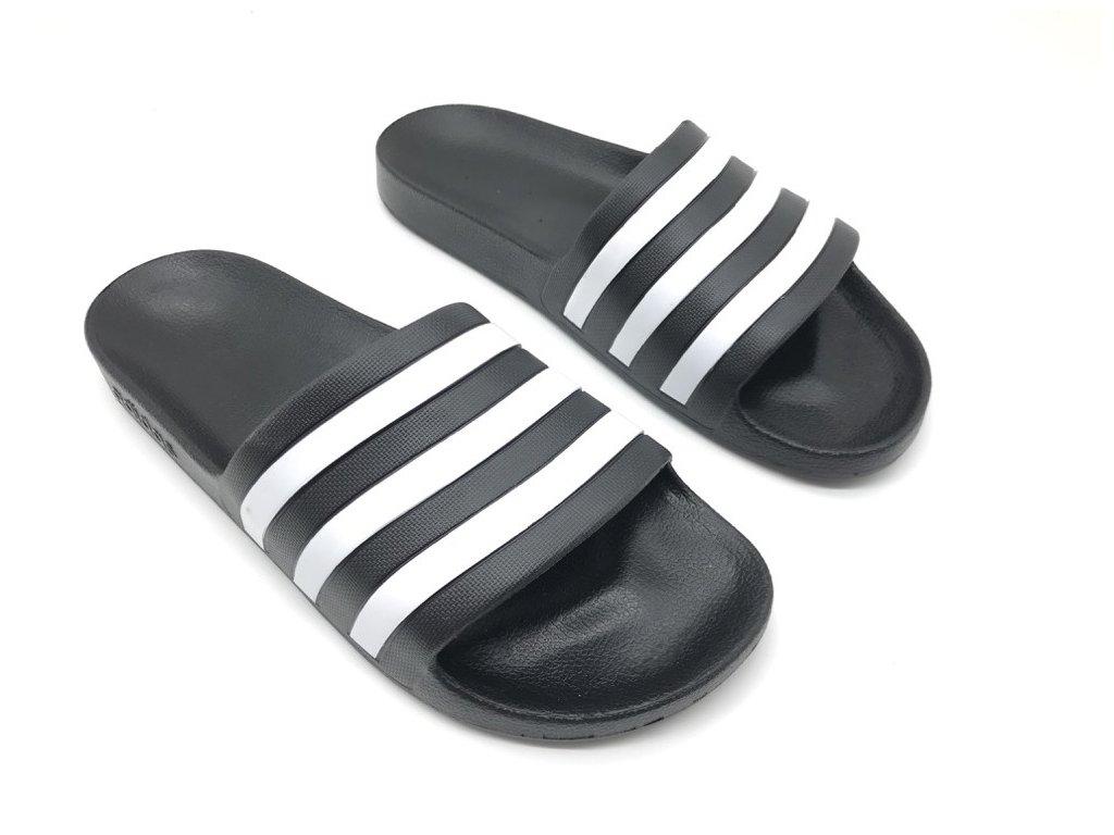 Pánské pantofle adidas Duramo Černé