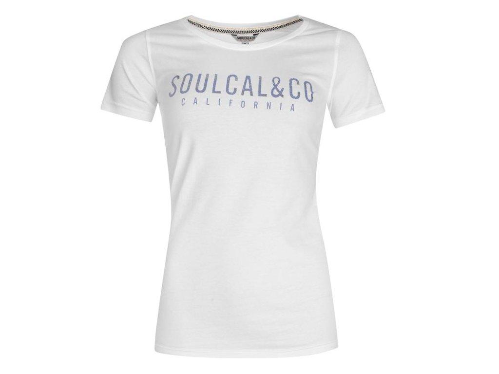 Dámské Tričko SoulCal Logo Bílé
