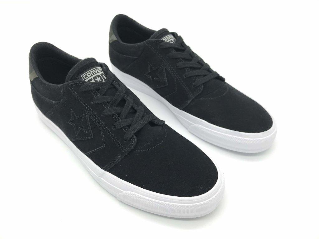 Pánské kožené boty Converse Cores Black/White
