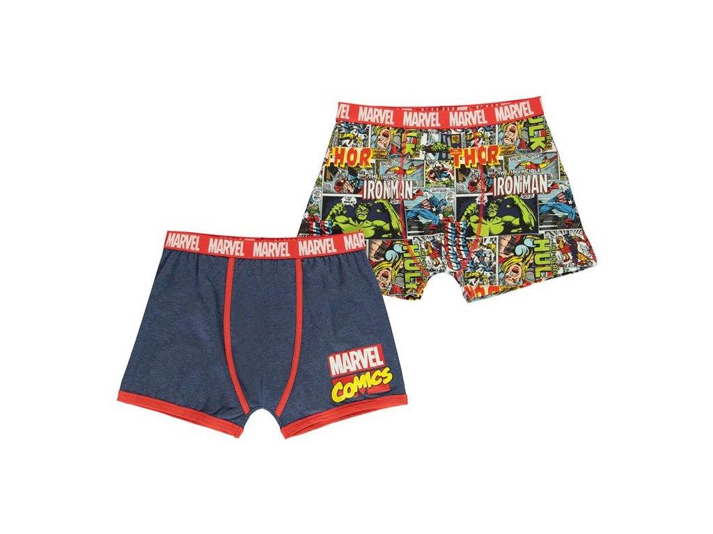 Pánské boxerky Dreamstock Original 2ks Marvel