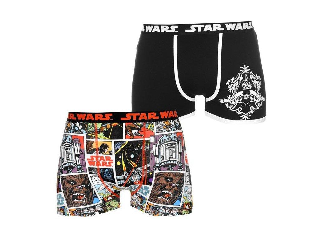 Pánské boxerky Dreamstock Original 2ks Star Wars