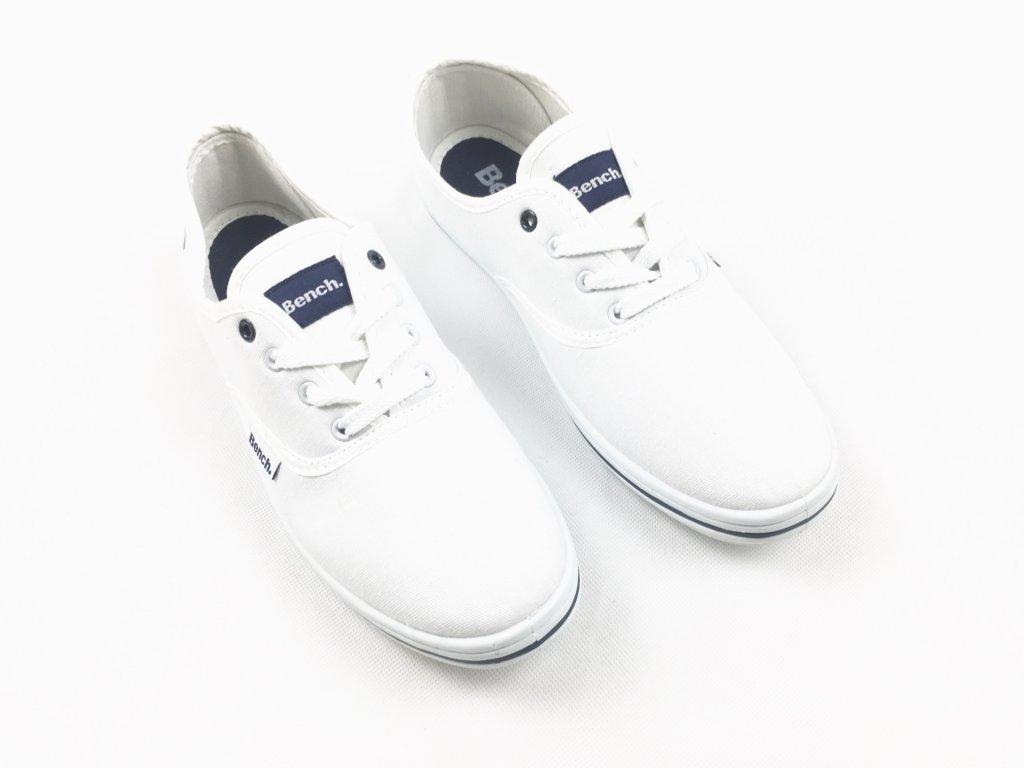 Pánské boty Bench Pump Bílé
