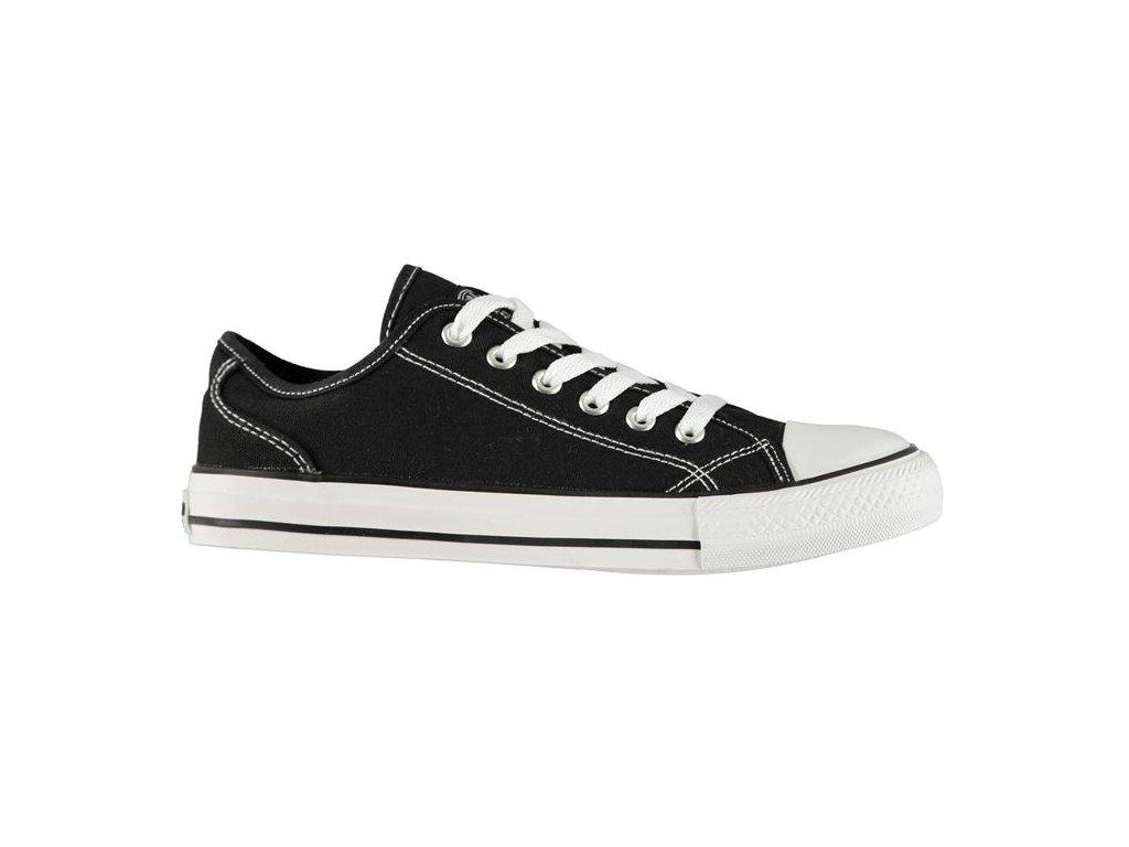 Dámské boty SoulCal Canvas Low Černé