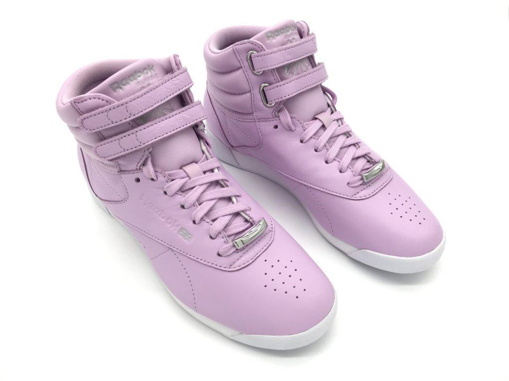 Dámské boty Reebok Classics Freestyle Fialové