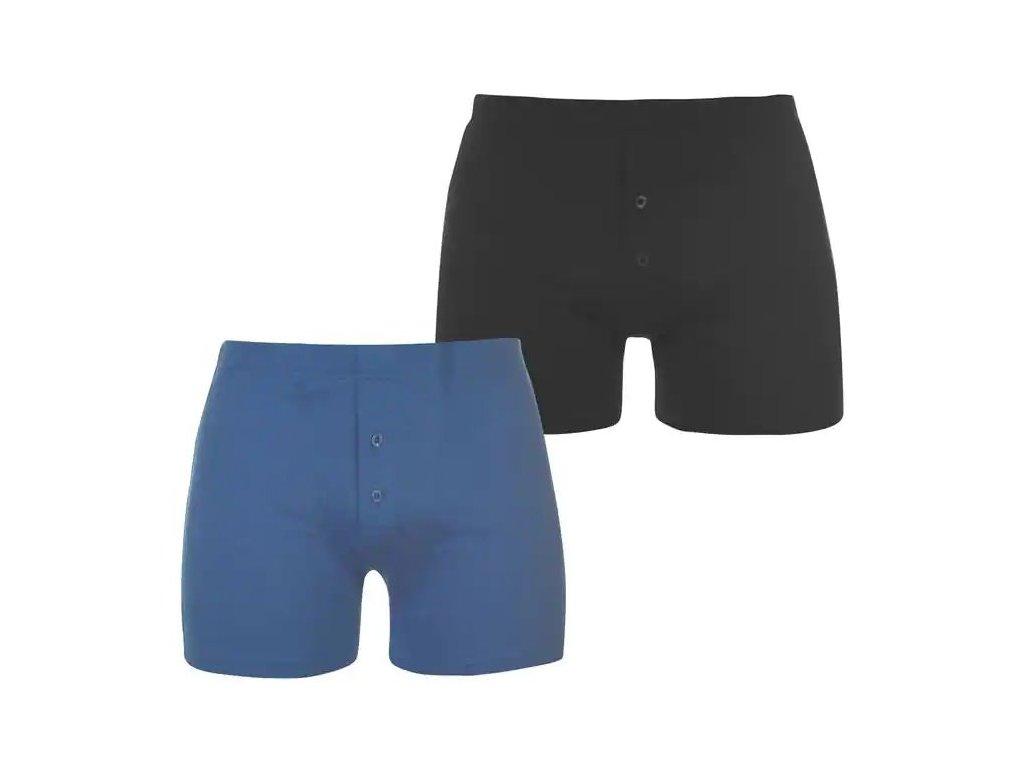 Boxerky Slazenger 2 v balení Navy/Blue