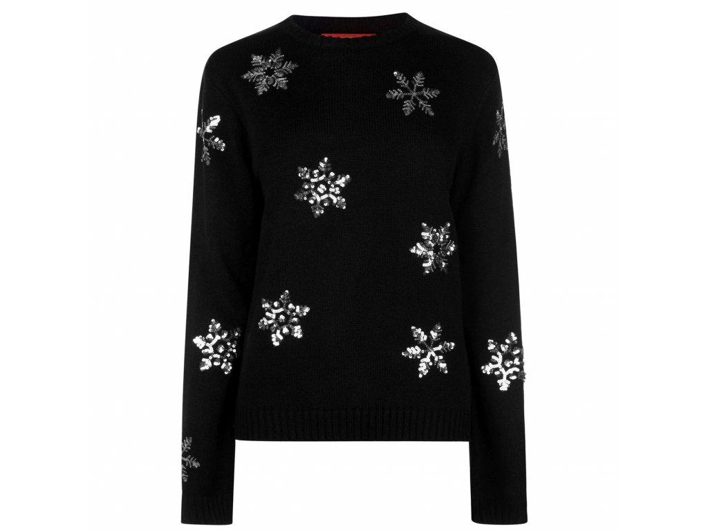 Dámský vánoční svetr Star Christmas Knit Snowflake